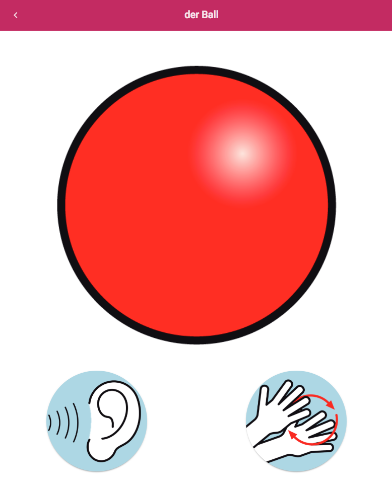 EiS-App - Symbol BALL